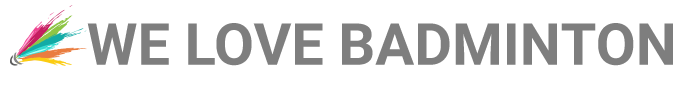 We Love Badminton Logo